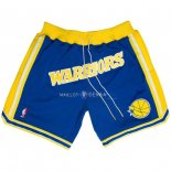 Pantalon Golden State Warriors Nike Retro Bleu 2018