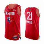 Maillot 2020 All Star NO.21 Joel Embiid Rouge