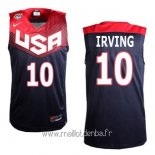 Maillot 2014 USA Irving No.10 Noir