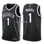 Maillot Boston Celtics Nike NO.1 D'Angelo Russell Noir Icon