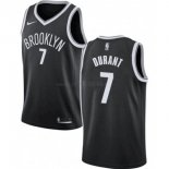 Maillot Enfants Brooklyn Nets NO.7 Kevin Durant Noir Icon 2019-20