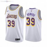 Maillot Los Angeles Lakers Nike NO.39 Dwight Howard Blanc Association 2019-20