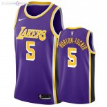Maillot Los Angeles Lakers Nike NO.5 Talen Horton Tucker Pourpre Statement 2019-20
