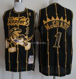 Maillot Toronto Raptors NO.1 Tracy McGrady Retro Or Noir 1998/99