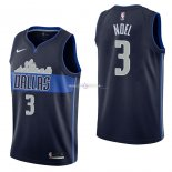 Maillot Dallas Mavericks Nike NO.3 Nerlens Noel Noir Statement