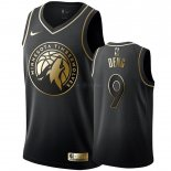 Maillot Minnesota Timberwolves Nike NO.9 Luol Deng Or Edition