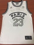 Maillot Collaboration Maillot Basket-ball Jordan x Paris Saint-Germain NO.23 Jordan Blanc