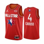 Maillot 2020 All Star NO.4 Alex Caruso Rouge