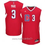 Maillot L.A.Clippers No.3 Chris Paul Rouge