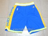 Pantalon Golden State Warriors Retro Bleu