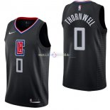 Maillot Los Angeles Clippers Nike NO.0 Sindarius Thornwell Noir Statement