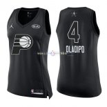 Maillot Femme 2018 All Star NO.4 Victor Oladipo Noir