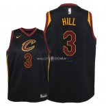 Maillot Enfants Cleveland Cavaliers NO.3 George Hill Noir Statement 2018