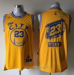Maillot Golden State Warriors No.23 Draymond Green Jaune