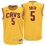 Maillot Cleveland Cavaliers No.5 J.R.Smith Jaune