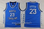 Maillot NCAA Enfants North Carolina No.23 Michael Jordan Bleu