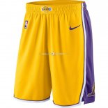 Pantalon Los Angeles Lakers Nike Jaune