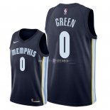 Maillot Memphis Grizzlies Nike NO.0 JaMychal Green Marine Icon 2018