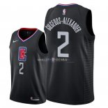 Maillot Los Angeles Clippers Nike NO.2 Shai Gilgeous Alexander Noir Statement 2018
