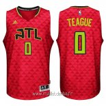 Maillot Atlanta Hawks No.0 Jeff Teague Rouge