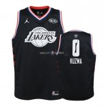 Maillot Enfants 2019 All Star NO.0 Kyle Kuzma Noir