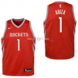 Maillot Enfants Houston Rockets No.1 Trevor Ariza Rouge Icon 2017/2018