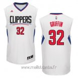 Maillot L.A.Clippers No.32 Blake Griffin Blanc