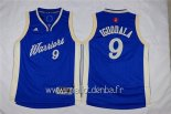Maillot Enfants 2015 Noël Golden State Warriors No.9 Andre Iguodala Bleu