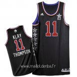 Maillot 2015 All Star No.11 Klay Thompson Noir