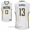 Maillot Indiana Pacers No.13 Paul George Blanc