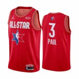 Maillot 2020 All Star NO.3 Chris Paul Rouge