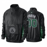 Veste De Boston Celtics NO.00 Robert Parish Noir