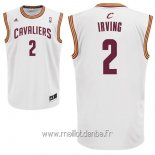 Maillot Cleveland Cavaliers No.2 Kyrie Irving Blanc
