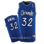 Maillot Orlando Magic No.32 Shaquille O'Neal Bleu