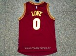 Maillot Cleveland Cavaliers No.0 Kevin Love 2015 2016 Rouge