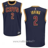 Maillot Cleveland Cavaliers No.2 Kyrie Irving Bleu