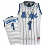 Maillot Orlando Magic No.1 Anfernee Hardaway Blanc