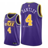 Maillot Utah Jazz Nike NO.4 Adrian Dantley Retro Pourpre 2018