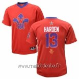 Maillot 2014 All Star No.13 James Harden Rouge
