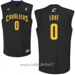 Maillot Cleveland Cavaliers No.0 Kevin Love Noir