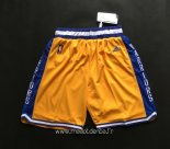 Pantalon Golden State Warriors Retro Jaune