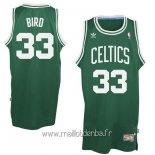 Maillot Boston Celtics No.33 Larry Joe Bird Vert