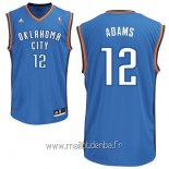 Maillot Oklahoma City Thunder No.12 Steven Adams Bleu