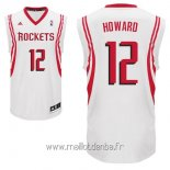 Maillot Houston Rockets No.12 Dwight Howard Blanc
