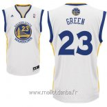 Maillot Golden State Warriors No.23 Draymond Green Blanc