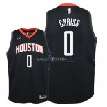 Maillot Enfants Houston Rockets NO.0 Marquese Chriss Noir Statement 2018